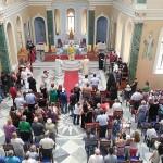 """Άγιος Βουκόλος: Ευλογητός στον πρώτο ελληνικό ναό της Σμύρνης – Το """"Καρφί"""" ήταν εκεί"""