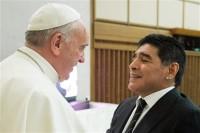 Όταν ο Πάπας συνάντησε τον θεό (της μπάλας)