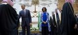 Η Μισέλ Ομπάμα τάραξε τους Σαουδάραβες με την εμφάνισή της