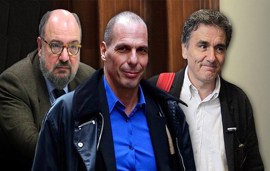 """Ανασχηματισμός στην ομάδα διαπραγμάτευσης - Ο Βαρουφάκης σε """"plan Β"""" -  Σφήνα ο Τσακαλώτος και άλλοι δύο"""