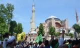 Προκλητικό συλλαλητήριο στην Κωνσταντινούπολη για να γίνει ξανά τζαμί η Αγιά Σοφιά