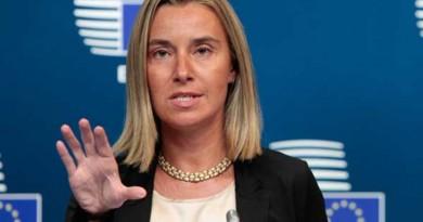 Μογκερίνι: Νωρίς για να αξιολογήσουμε τις συνέπειες της παραίτησης Νταβούτογλου