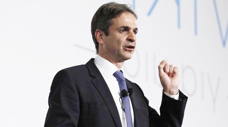 Main pre electoral speech of Kyriakos MItsotakis for the leadership of the New Democracy Party, in Athens , on Nov. 20, 2015 / ???????? ??????????? ?????? ??? ???????? ????????? ??? ??? ???????? ??? ???? ???????????, ???? ?????, ???? 20 ?????????, 2015