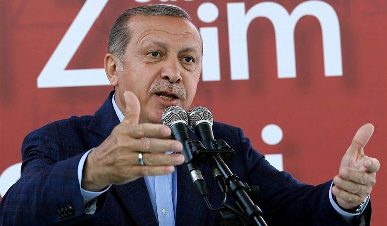 Ερντογάν: Θέλουμε ειρήνη με την Ελλάδα, δεν θέλουμε άλλες εντάσεις!