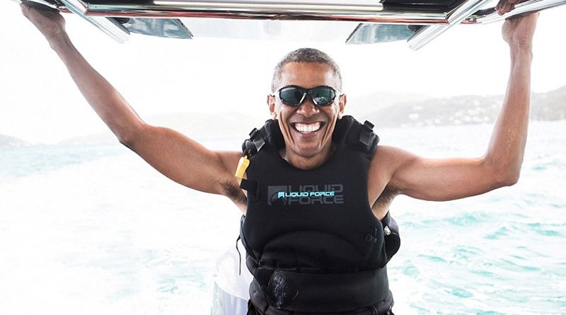 obama-surfing