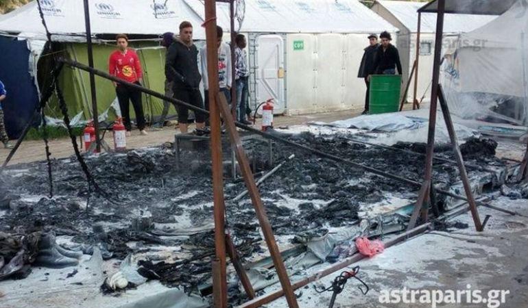 Χίος: Αφγανοί προσπάθησα να κάψουν ζωντανούς οχτώ Μαροκινούς