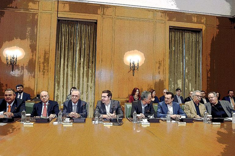 Συνεδρίαση του υπουργικού συμβουλίου στην Βουλή την Κυριακή 6 Νοεμβρίου 2016. (EUROKINISSI/ΤΑΤΙΑΝΑ ΜΠΟΛΑΡΗ)
