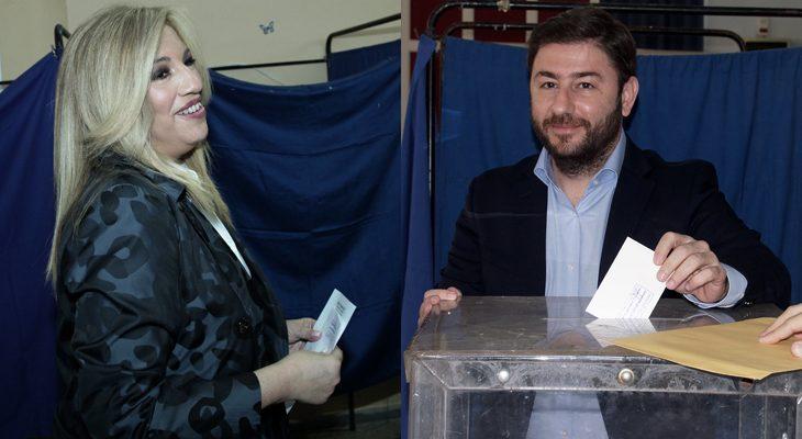 Γεννηματά και Ανδρουλάκης στο εκλογικό «ρινγκ» για την ηγεσία της Κεντροαριστεράς