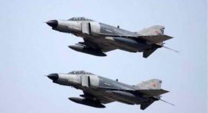 Έντεκα παραβιάσεις του εθνικού εναέριου χώρου από τουρκικά F-4 και F-16